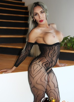 Shemales In Pantyhose Porn Pics